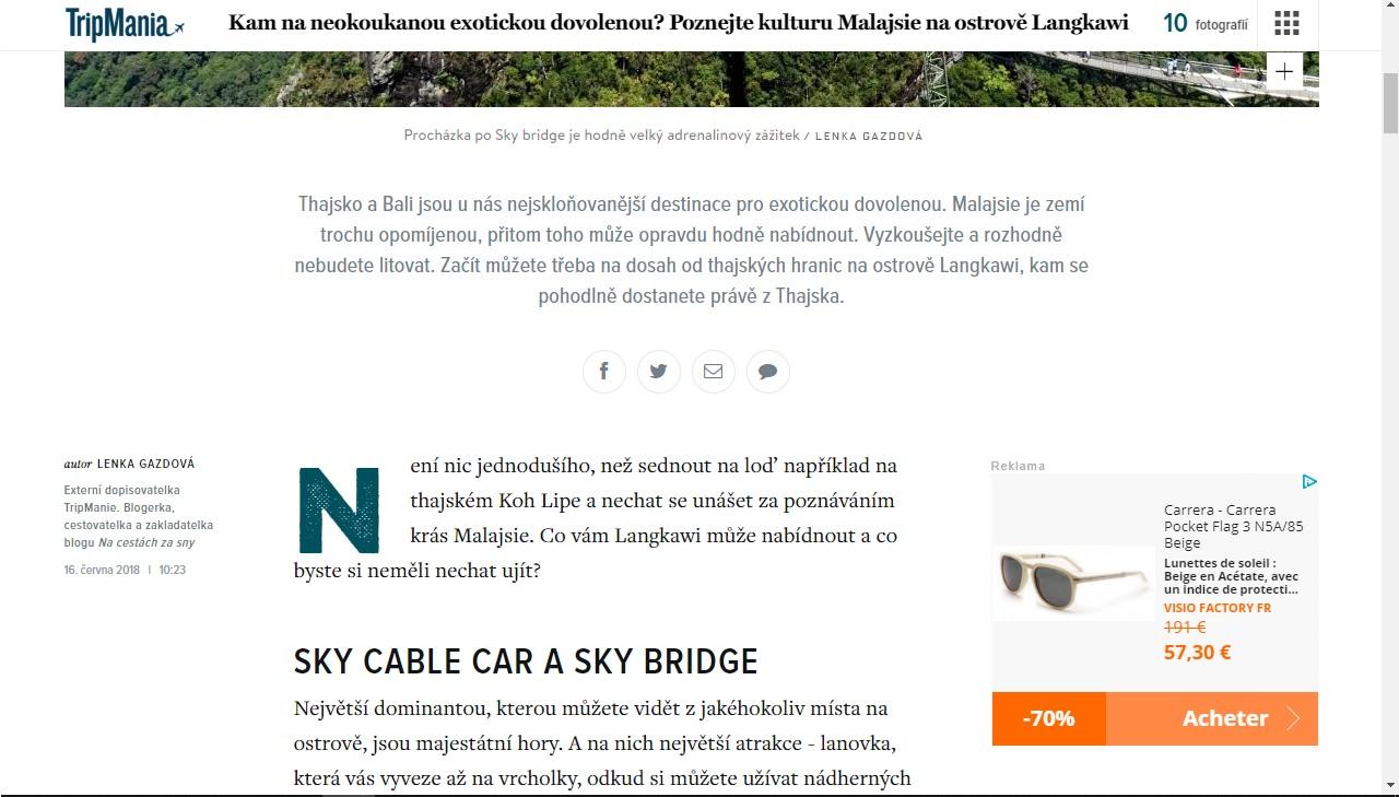 Článek o Langkawi pro web Tripmania